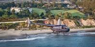 Helicopter Ride for 2 Over Santa Barbara Coastline, $100 Off