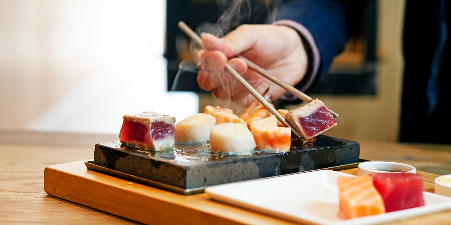 £14.50pp -- 3-course meal at 'stylish' Japanese restaurant