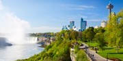 $74 & up -- Niagara Falls Hotels w/Dining Credits, Save 65%