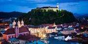 ab 79 € -- Genusstagte in Sloweniens Hauptstadt & Dinner