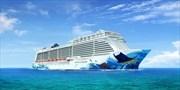 666 € -- Jungfernfahrt auf größtem NCL-Schiff ab Hamburg