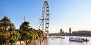 ab 15 € -- Londonflüge im Juni und Juli unter 100 €