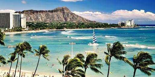 Waikiki Beach Vacation w/Air; Kids Stay Free, From $639