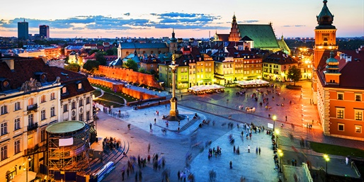 $769* & up -- Poland Summer & Fall Sale Fares, R/T