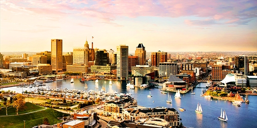 Amtrak Northeast Regional to/from Baltimore, O/W, From $13