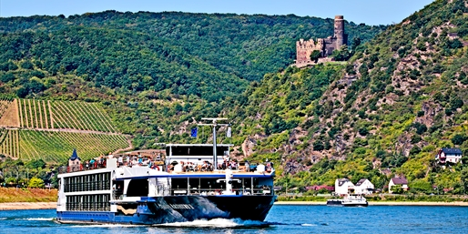 Upscale 7-Nt. River Cruise; Amsterdam to Basel, From $1,599