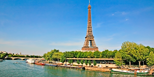 Seine River: 7-Nt. Cruise incl. Normandy; R/T Paris, From $1,449
