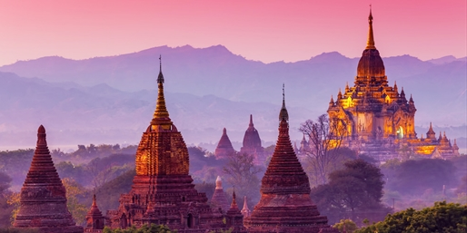 Myanmar 9-Night Trip w/Breakfast & Sightseeing, From $2,232