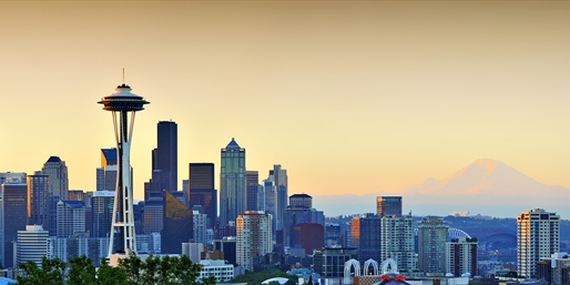 Cyber Monday Fares to Seattle, One Way, From Washington D.C.