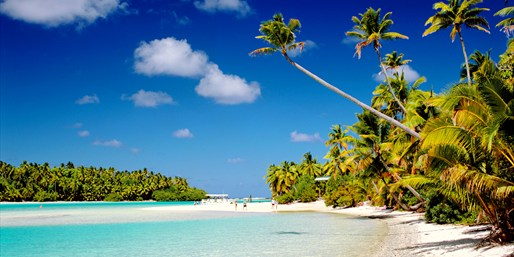 Fly to the Cook Islands from the West Coast, R/T, From $854