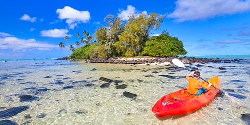Fly to the Cook Islands from the West Coast, R/T, From $832