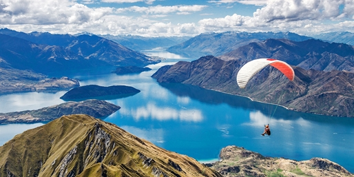 New Zealand Fares from the West Coast, R/T, From $998