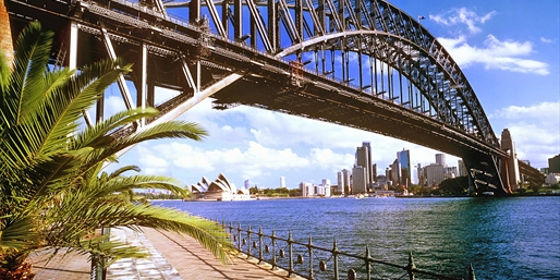 Flights to Australia from the West Coast, R/T, From $1,182