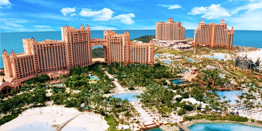$250 Instant Air Credit at Bahamas Hotels incl. Atlantis