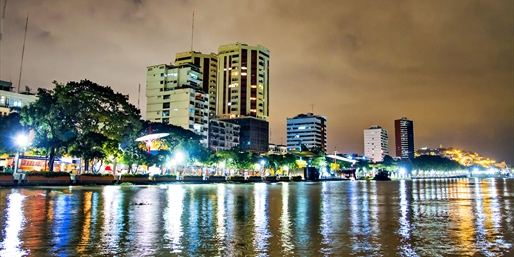 New York to Guayaquil or Lima, R/T, From $619