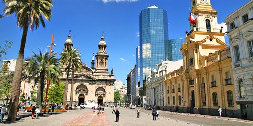 Los Angeles to Santiago on 'Best Airline,' R/T, From $1,213