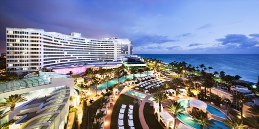Miami's Famed Fontainebleau incl. Breakfast & Valet, From $249