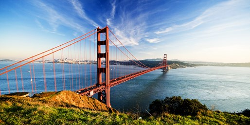 San Diego to/from San Francisco in Fall, O/W, From $109