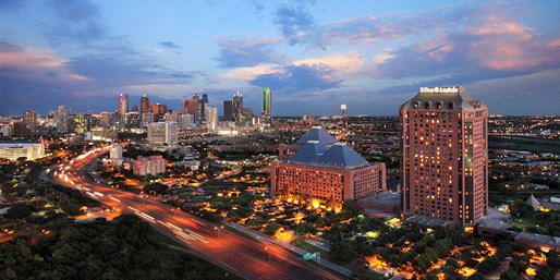 Dallas: 4-Star Hilton Hotel, Save 30%, From $127
