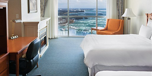 $85 -- Niagara 4-Star Marriott w/Dinner Credit and Tastings