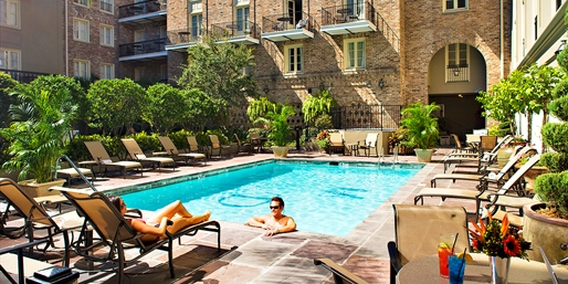 $99 -- New Orleans French Quarter Hotel w/Parking & Drinks
