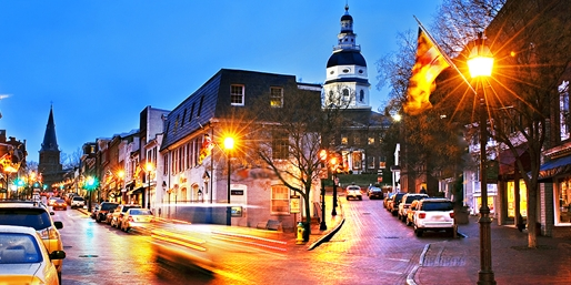 $99 -- Annapolis Hotel w/Parking & Breakfast, Reg. $186