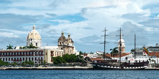 Nonstop from Miami to Cartagena, Roundtrip, From $221
