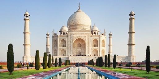 £799pp -- India Tour w/Taj Mahal & Elephant Ride, Save £1000