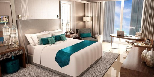 744 € -- Emirate: Meerblick im 5*-Hotel & Nonstop-Flug, -42%