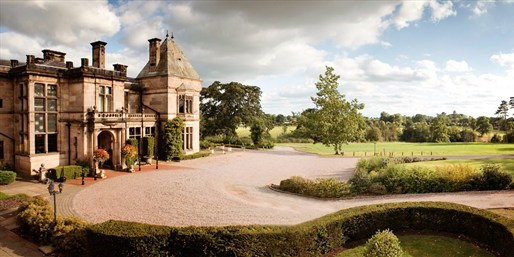£169 -- Deluxe Cheshire Stay inc Meals & Cocktails