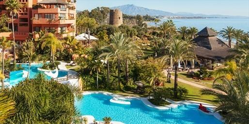£199pp -- Marbella: 5-Star Kempinski Escape, fr 12 Airports