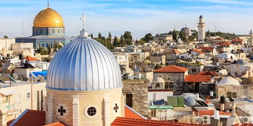 £799pp -- Holy Land Escorted Tour w/Flights, Stays & Meals