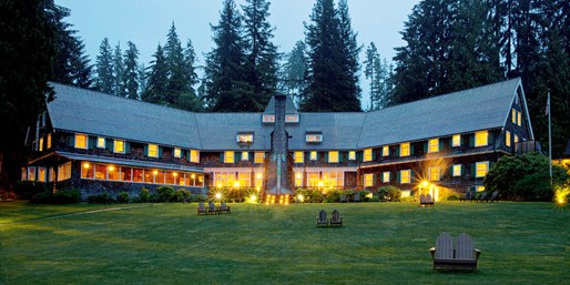 Travelzoo Deal: $99 -- Charming Lodge Retreat in Olympic National Forest