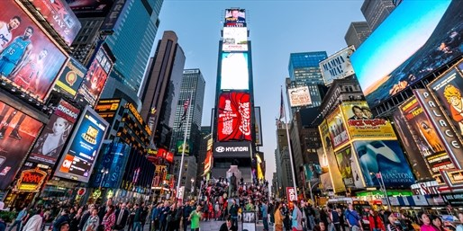£127 -- New York: 4-Star Times Square Summer Stay