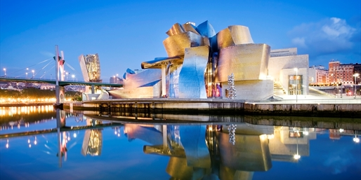 Vista del Guggenheim, Bilbao