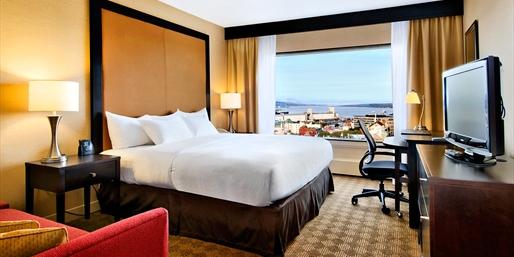 80€ -- Canada : hôtel Hilton proche vieille-ville de Québec