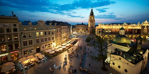 £139pp -- 3-Night Krakow Hilton Break w/Upgrade & Wine