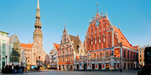 £180 -- Riga 4-Star City Break w/Tour & More, Save up to 35%