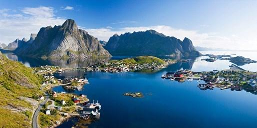 ab 799 € -- Norwegische Fjorde: 13 Tage mit Lofoten, -450 €