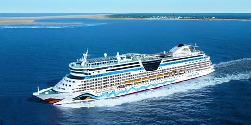 399 € -- Amsterdam & London sehen: Mit AIDA in der Nordsee