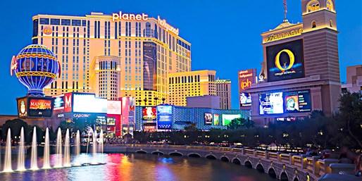 $430 & up -- Vegas: 3 Night 4-Star Resort w/Vancouver Air