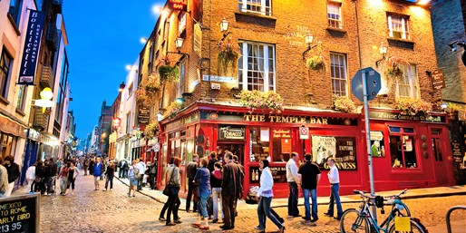 $1137 & up -- Dublin: 5 Night Stay w/Air from Toronto