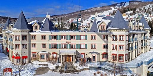 $115 -- Mont-Tremblant Village Hotel w/Breakfast, Reg. $170