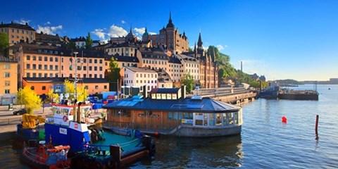 98€ -- Billets d'avion A/R directs vers Stockholm
