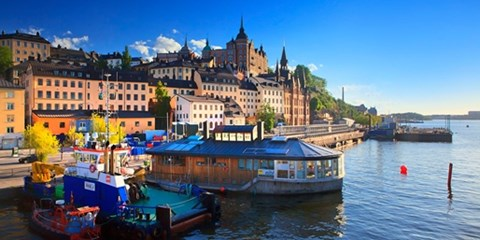 98€ -- Billets d'avion A/R directs vers Stockholm