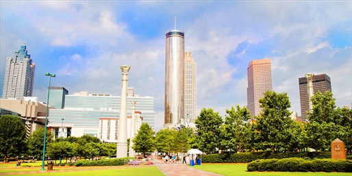 Travelzoo Deal: $79 -- Downtown Atlanta Escape by Centennial Park, Reg. $169