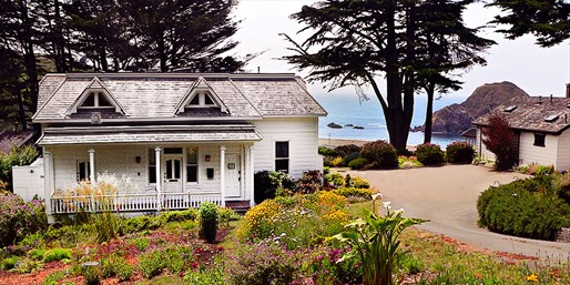 2 Nights at Oceanside B&B near Mendocino, Reg. $370