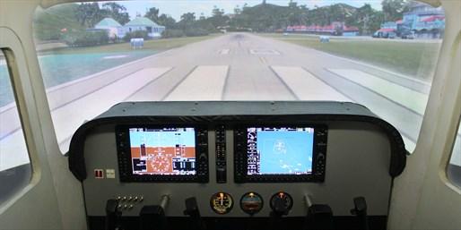 真实飞机模拟驾驶