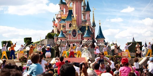 Castillo en Disneyland Paris