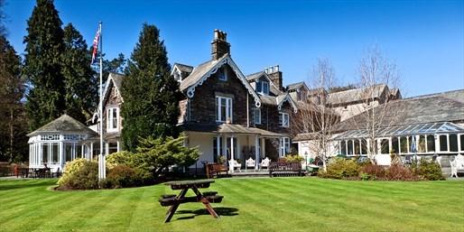 £159 -- Lake District Escape w/4-Course Dinner, Was £270